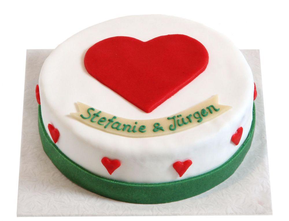 Herzlichst Torte