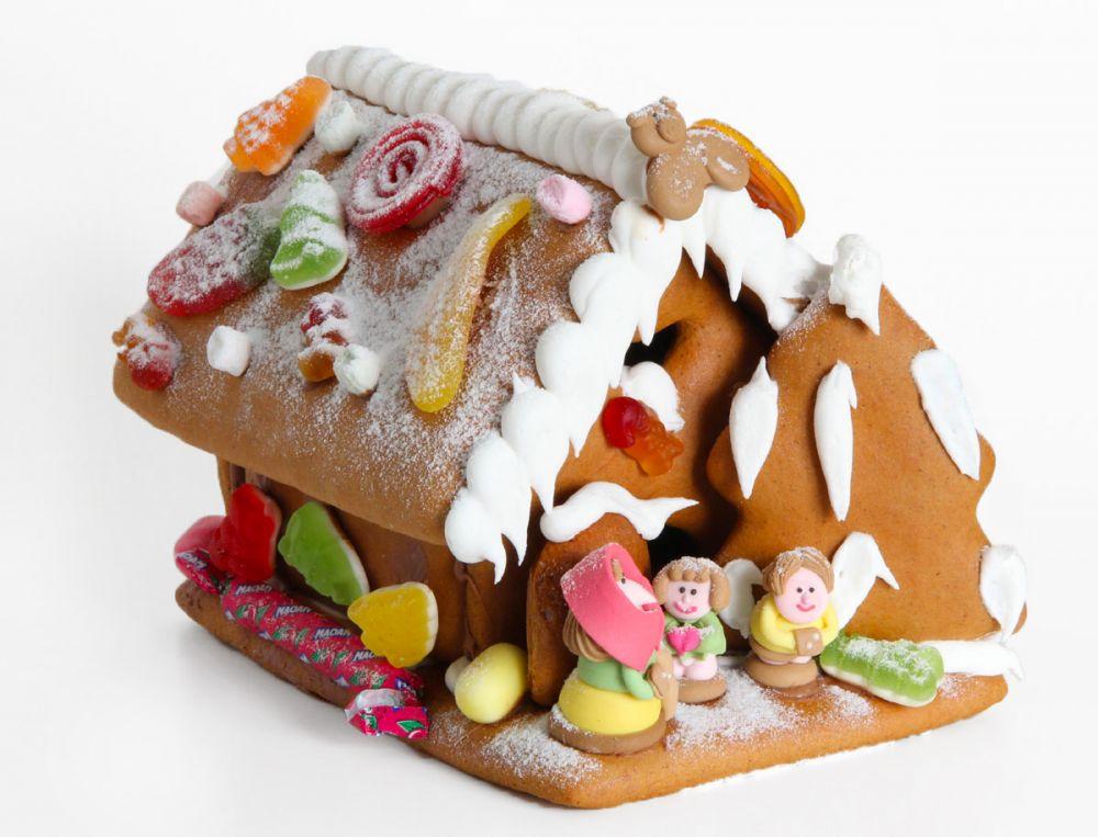 Hexenhaus Lebkuchen