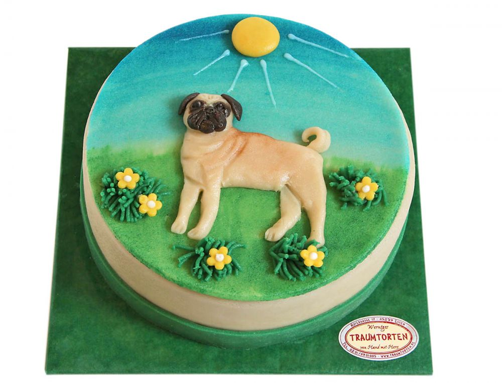 Hunde Torte