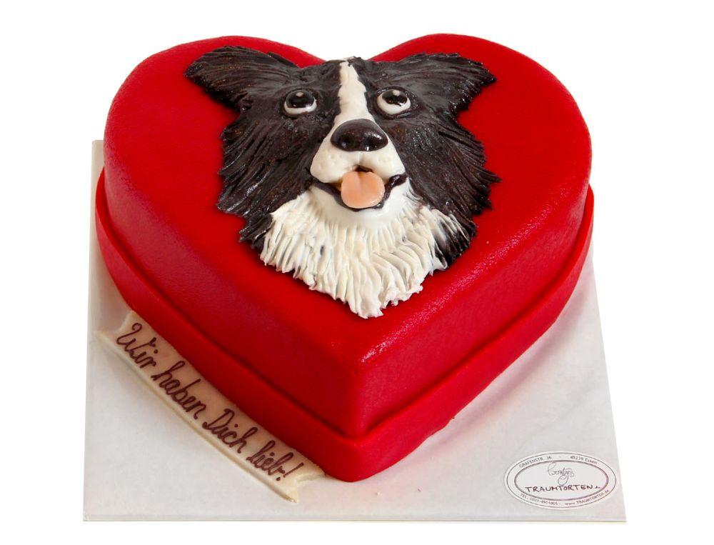 Hundekopf Torte