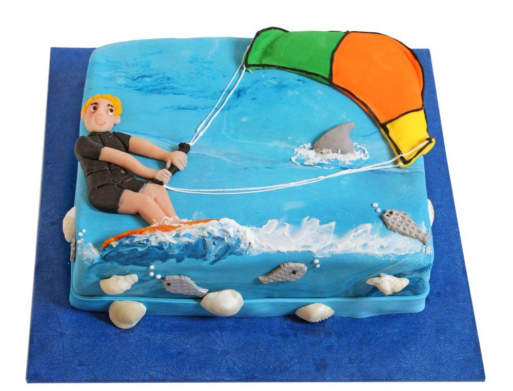 Kitesurfer Torte