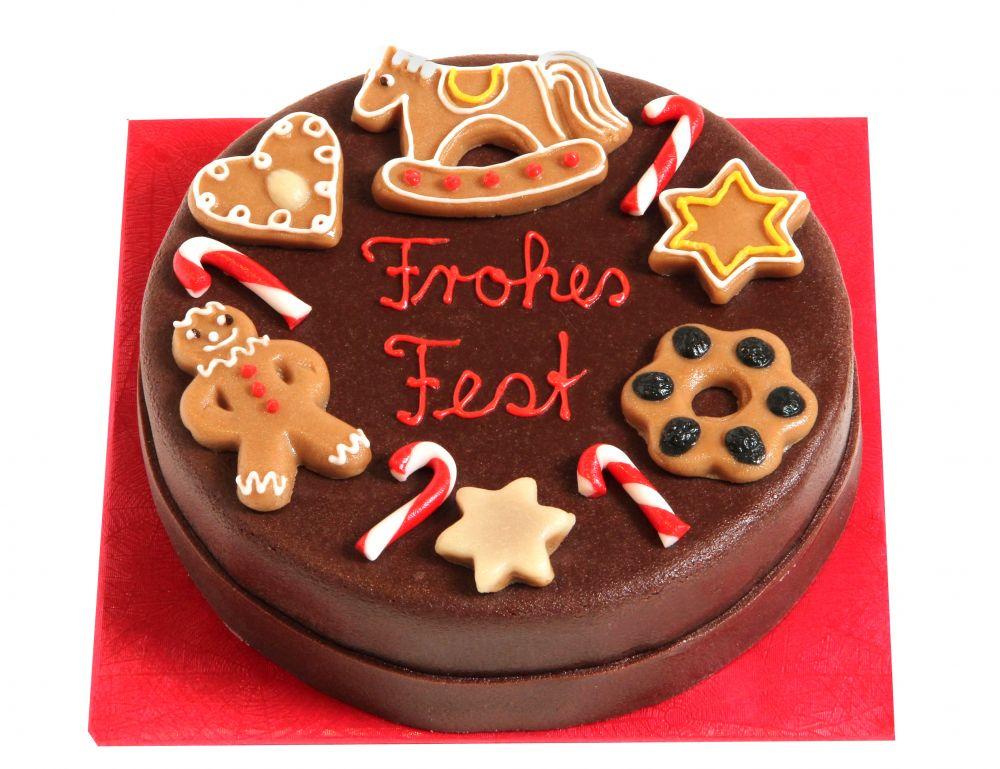 Klassisch II Weihnachts Torte