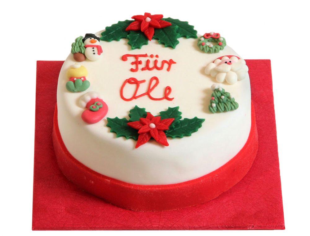 Klassisch III Weihnachts Torte