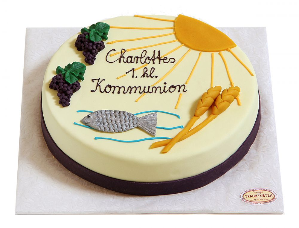 Kommunion und Konfirmation Torte