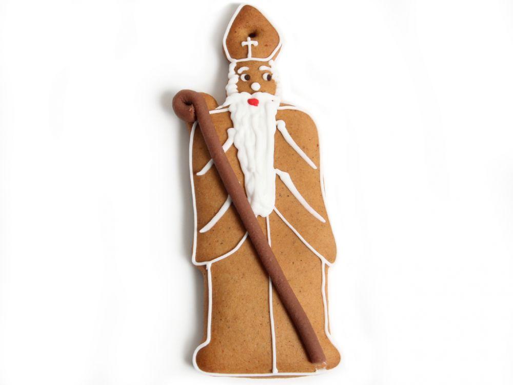 Lebkuchen - Heiliger Nikolaus (5 Stück)