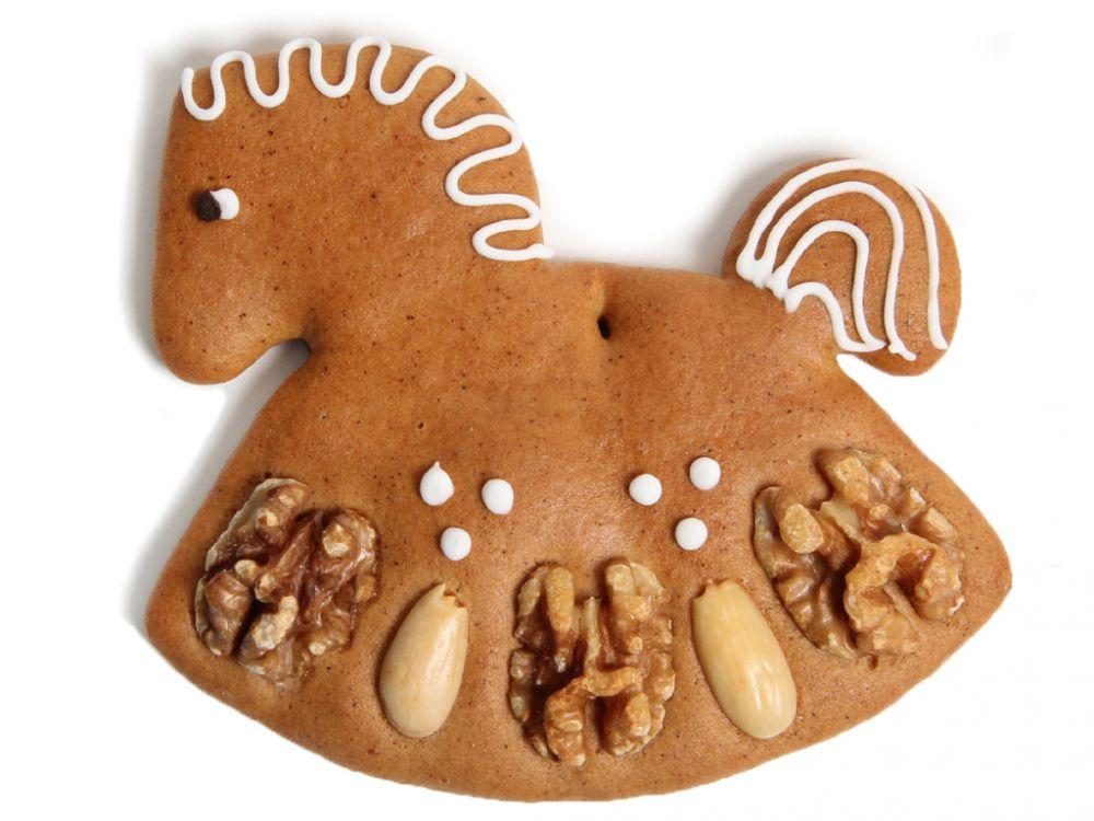 Lebkuchen - Schaukelpferd  (5 Stück)