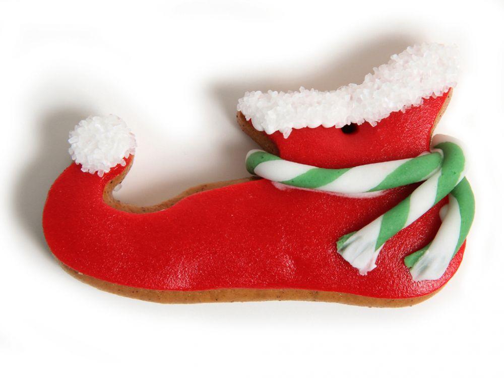 Lebkuchen - Schuh rot (5 Stück)