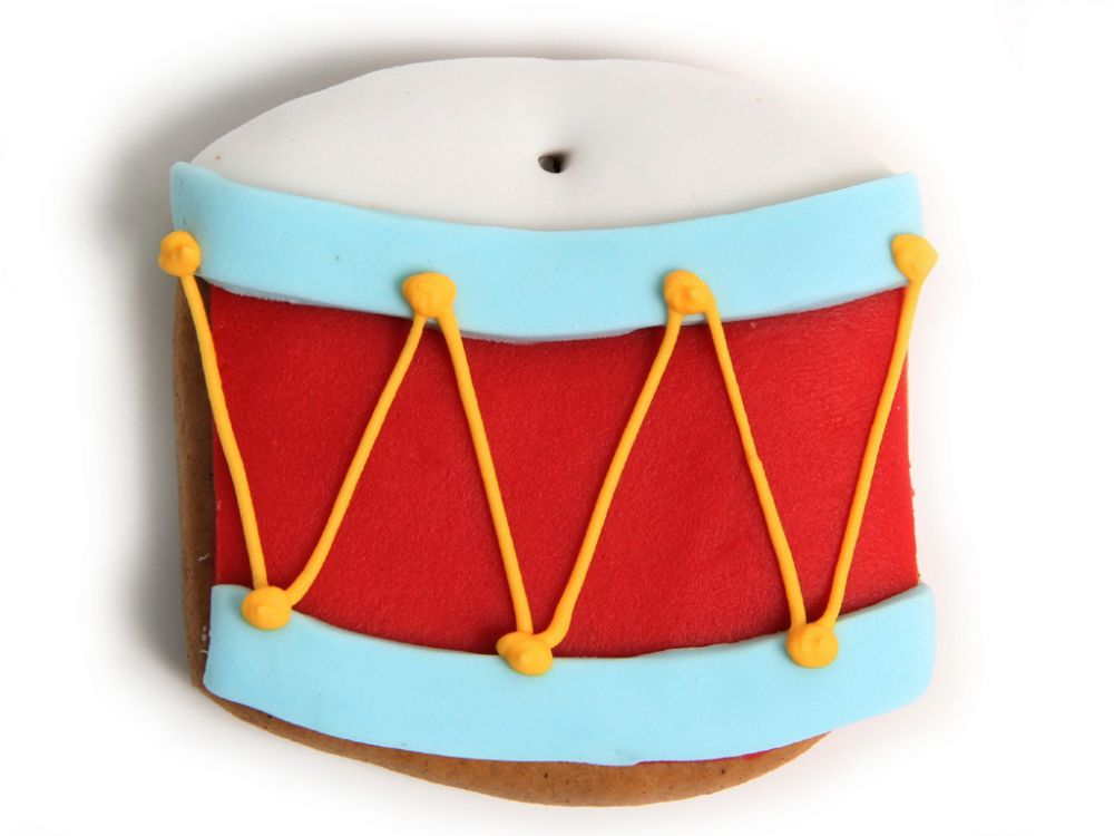 Lebkuchen - Trommel (5 Stück)