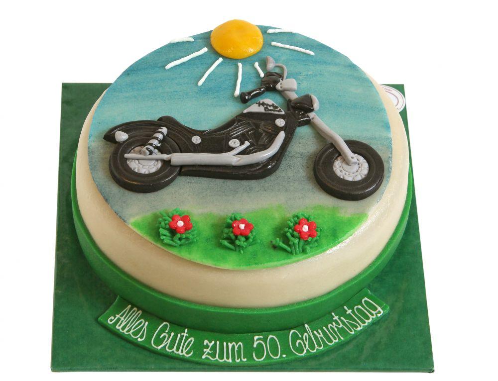 Motorrad Torte Harley