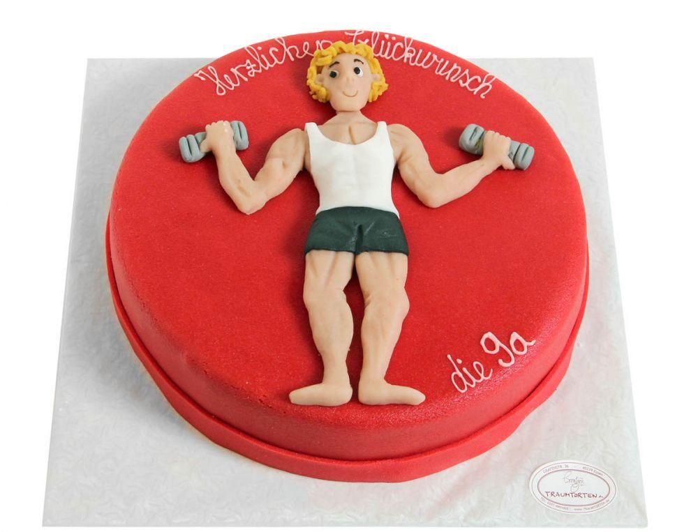 Muskel Mann Torte