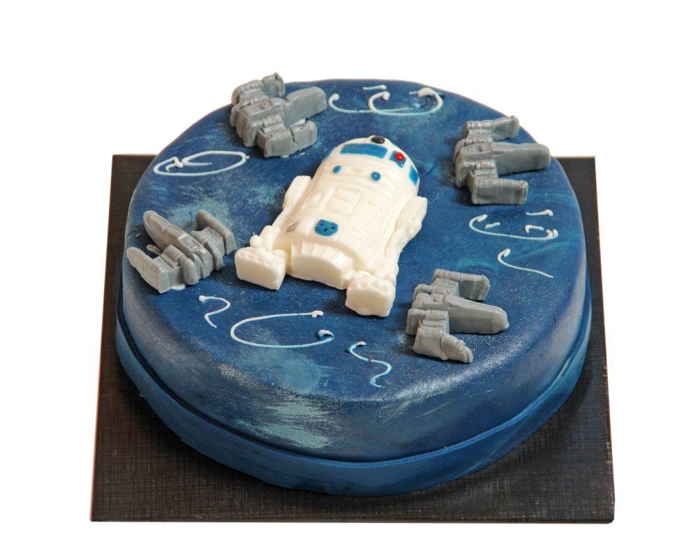 R2D2 Torte