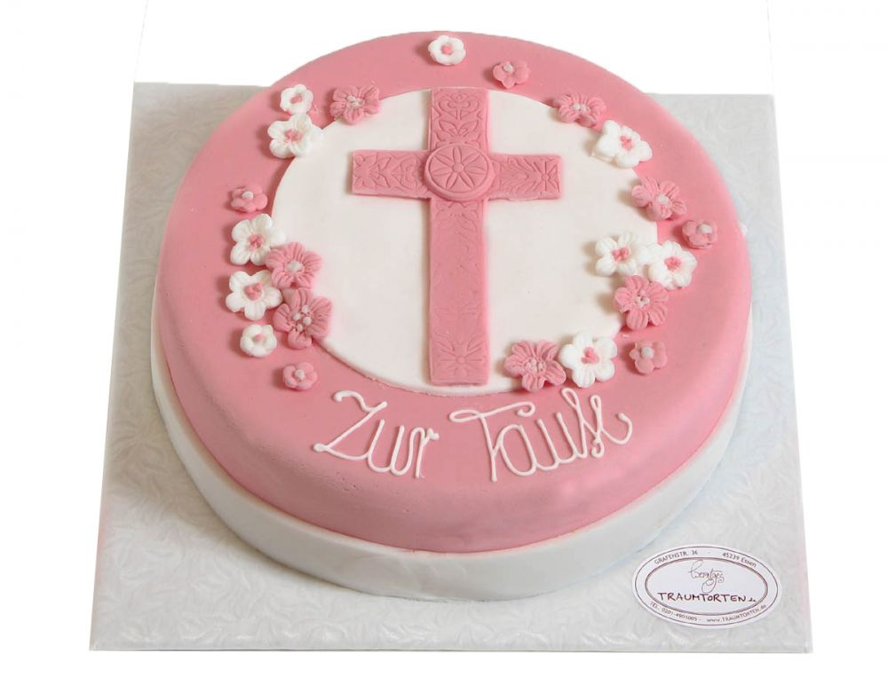 Rosa Kreuz Torte