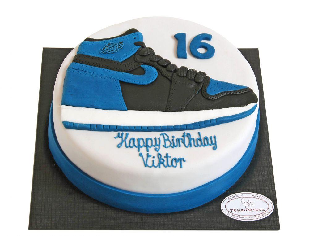 Sportschuh Torte