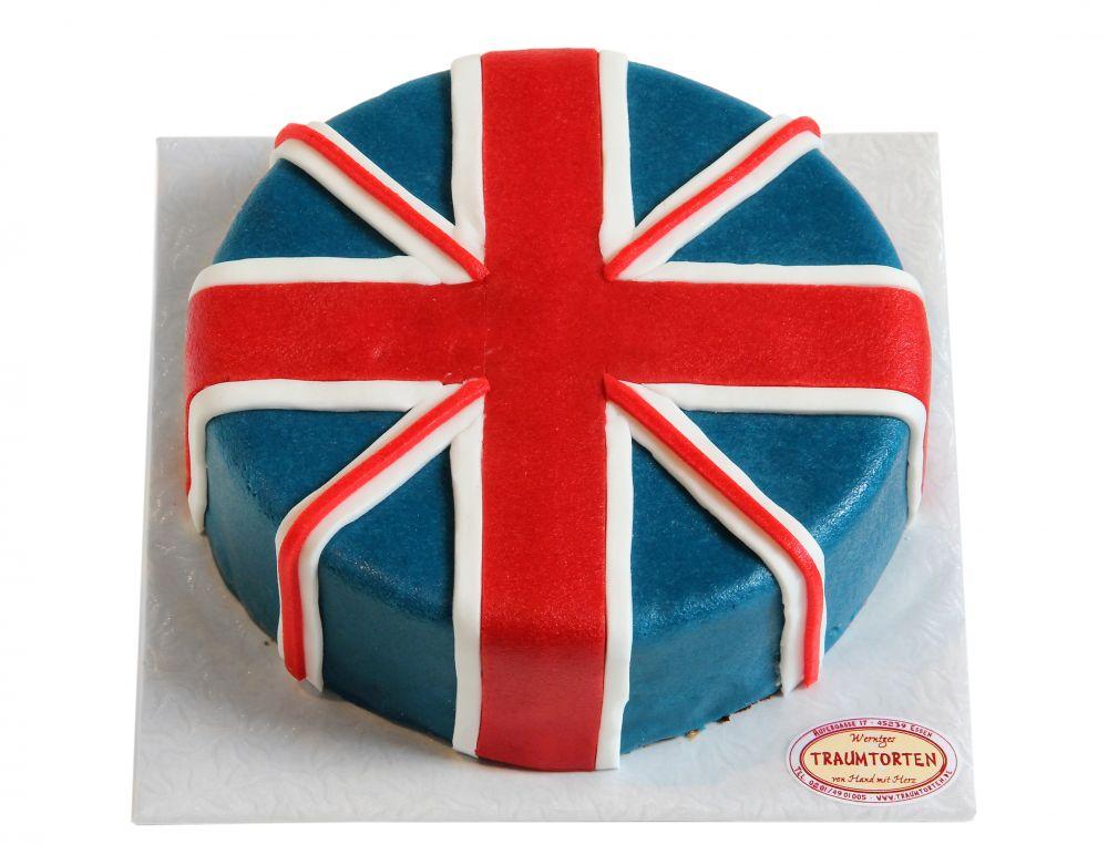 Union Jack Torte