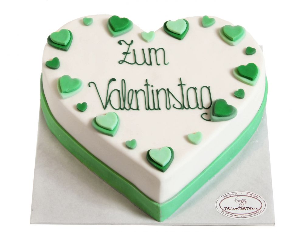 Valentinstag Herz 1 Torte