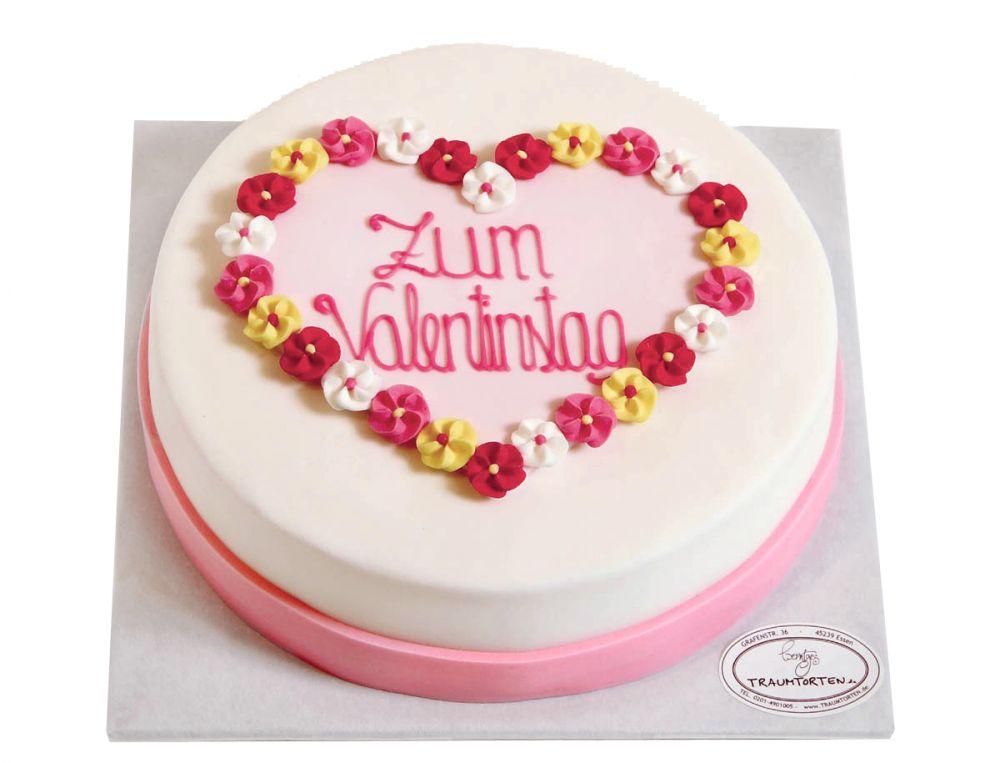 Valentinstag Herz 3 Torte