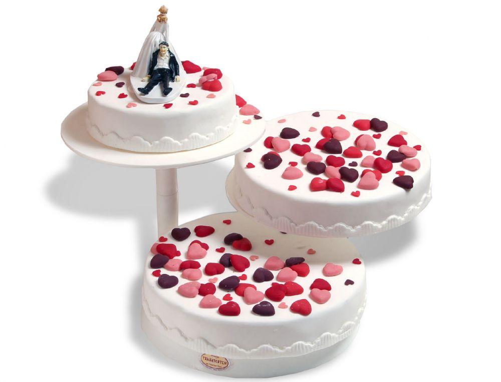 Wilde Herzen Torte