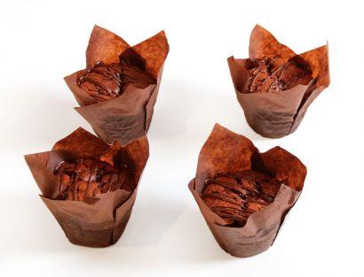 10 Schoko Muffins