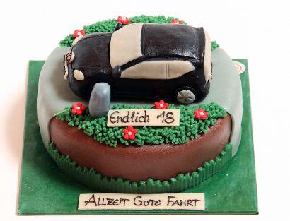 Auto Torte