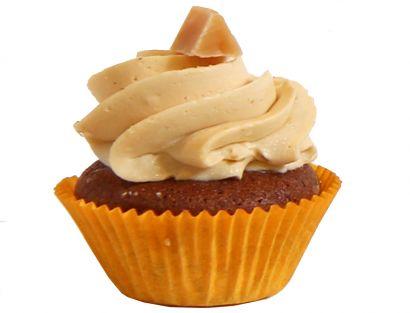 6 Karamel Cupcakes