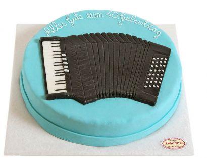 Akkordeon Torte
