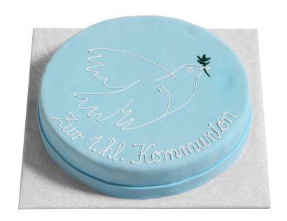 Blaue Taube Torte