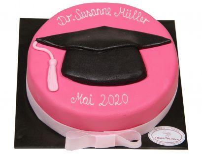 Doktorhut Torte pink