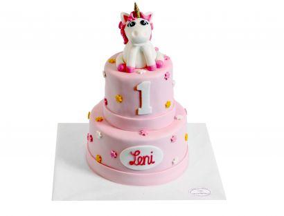 Einhorn 3D Torte