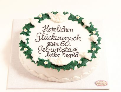 Engel Efeu Torte