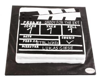 Filmklappe Torte