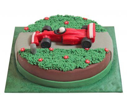 Formel1 Rennwagen Torte