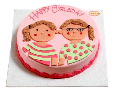 Freundinnen Torte