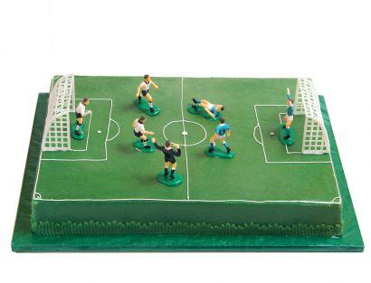 Fussballfeld Torte