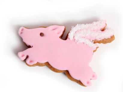 Geflügeltes Schwein (5 Stück)