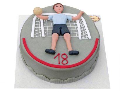 Handball Torwart Torte