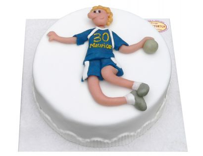 Handballer Torte
