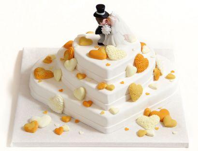 Herzregen Torte