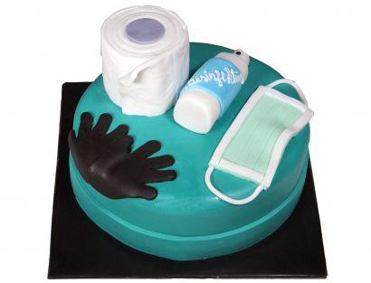 Infektionsschutz Torte