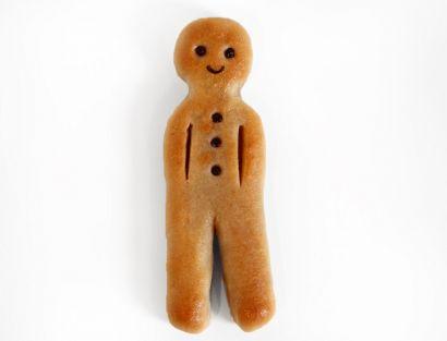 Kerl aus gebackenem Marzipan