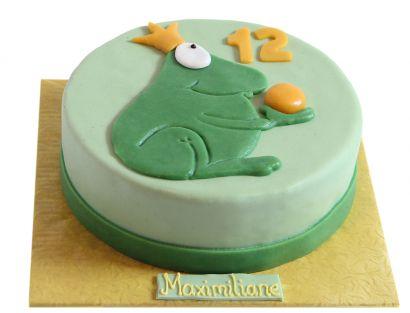 Königlicher Frosch Torte