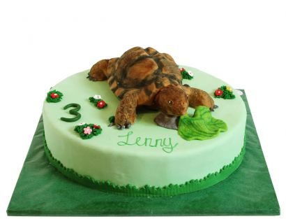Landschildkröten Torte