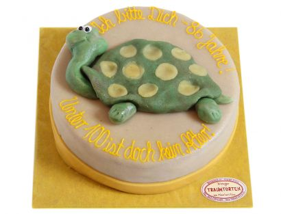 Lustige Schildkröten Torte