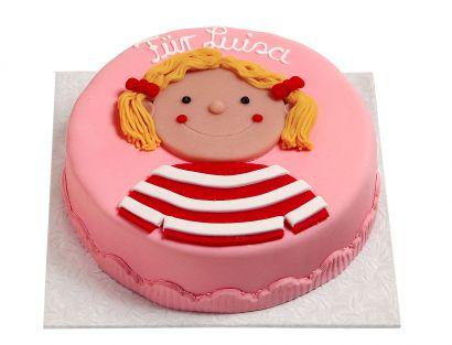 Mädchen Torte