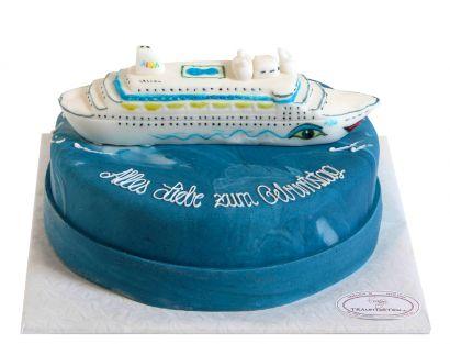 Mein Traumschiff Geburtstags Torte