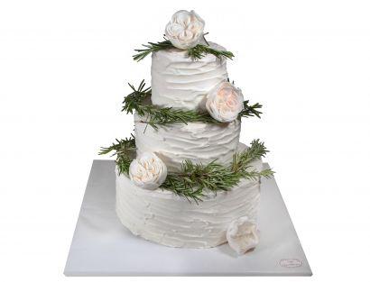 Naked Cake mit Rosmarin