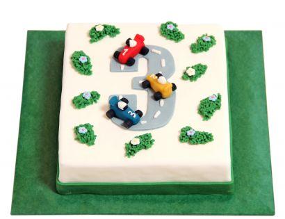 Rennstrecken Torte