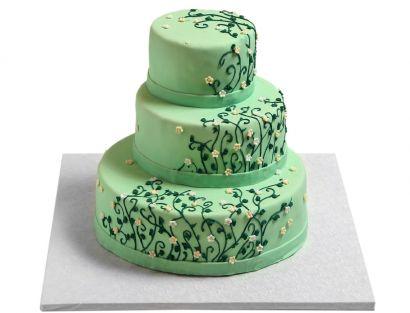 Romantische Ranken Torte