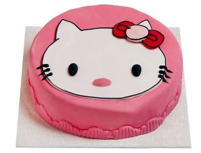 Rosa Katzen Torte