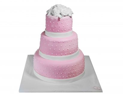 Rosa Traum Torte