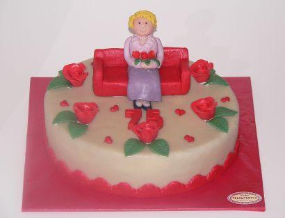 Runder Geburtstag Torte
